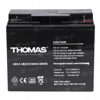 Аккумулятор THOMAS (18 Ah) , 12 V 1