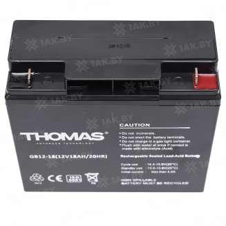 Аккумулятор THOMAS (18 Ah) , 12 V 2