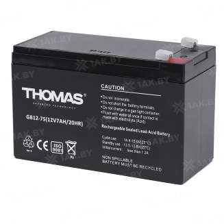 Аккумулятор THOMAS (7 Ah) , 12 V 0