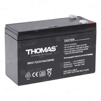 Аккумулятор THOMAS (7 Ah) , 12 V 1