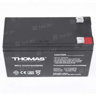 Аккумулятор THOMAS (7 Ah) , 12 V 3
