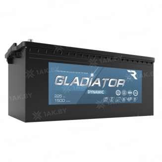 Аккумулятор GLADIATOR (225 Ah) 1500 A, 12 V Прямая, L+ 0
