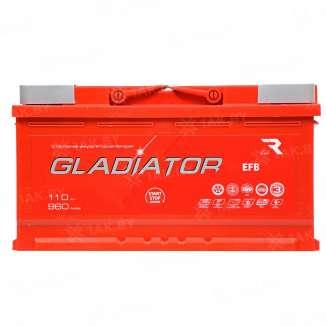 Аккумулятор GLADIATOR (110 Ah) 960 A, 12 V Прямая, L+ 0