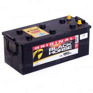 Аккумулятор BLACK HORSE (190 Ah) 1000 A, 12 V Обратная, R+ 0