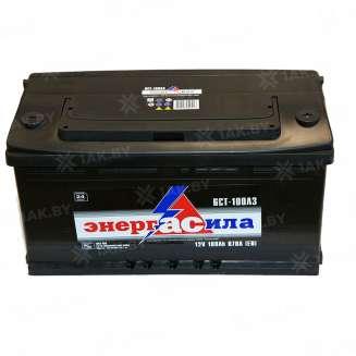 Аккумулятор ЭНЕРГАСИЛА (100 Ah) 870 A, 12 V Обратная, R+ 0
