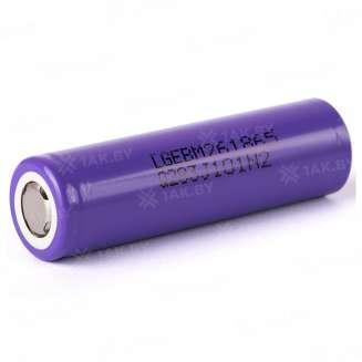 Аккумуляторный элемент LG Li-ion INR18650-M26 (3.65 B, 2.6 А/ч), Корея 0
