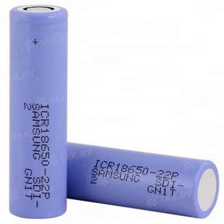 Аккумуляторный элемент Samsung Li-ion ICR18650-22P (3.6 B, 2.2 А/ч), Малайзия 0