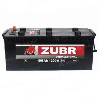 Аккумулятор ZUBR (190 Ah) 1200 A, 12 V Обратная, R+ 0