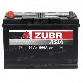 Аккумулятор ZUBR (91 Ah) 800 A, 12 V Прямая, L+ 0