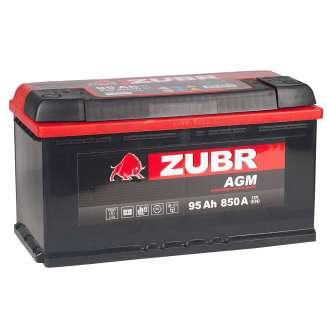 Аккумулятор ZUBR (95 Ah) 850 A, 12 V Обратная, R+ 2