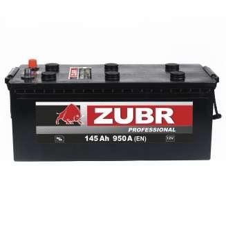 Аккумулятор ZUBR (145 Ah) 950 A, 12 V Обратная, R+ 0