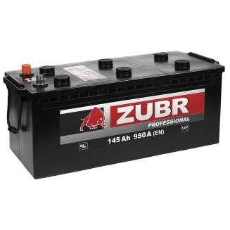 Аккумулятор ZUBR (145 Ah) 950 A, 12 V Обратная, R+ 1