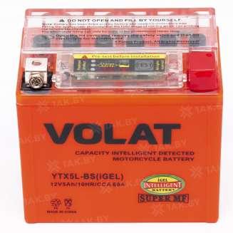 Аккумулятор VOLAT (5 Ah) 80 A, 12 V Обратная, R+ 0