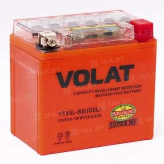 Аккумулятор VOLAT (5 Ah) 80 A, 12 V Обратная, R+ 2
