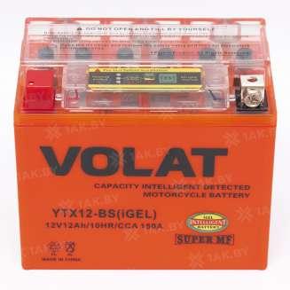 Аккумулятор VOLAT (12 Ah) 150 A, 12 V Прямая, L+ 1