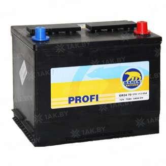 Аккумулятор BAREN (75 Ah) 640 A, 12 V Обратная, R+ 0
