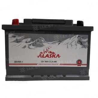 Аккумулятор ALASKA (74 Ah) 680 A, 12 V Прямая, L+ 0