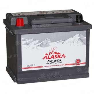 Аккумулятор ALASKA (62 Ah) 540 A, 12 V Прямая, L+ 0