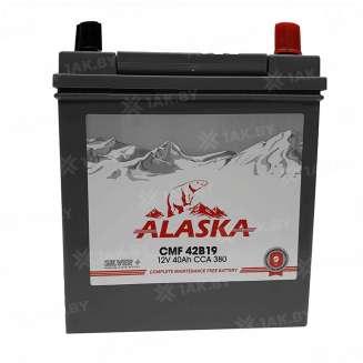 Аккумулятор ALASKA (40 Ah) 380 A, 12 V Обратная, R+ 0