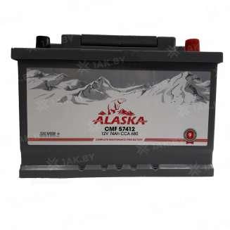 Аккумулятор ALASKA (74 Ah) 680 A, 12 V Обратная, R+ 0