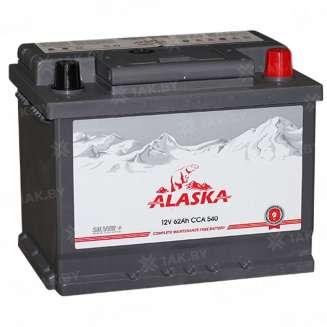Аккумулятор ALASKA (62 Ah) 540 A, 12 V Обратная, R+ 0