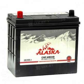 Аккумулятор ALASKA (50 Ah) 450 A, 12 V Прямая, L+ 0