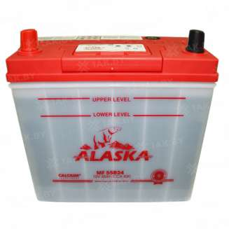 Аккумулятор ALASKA (45 Ah) 430 A, 12 V Прямая, L+ 0