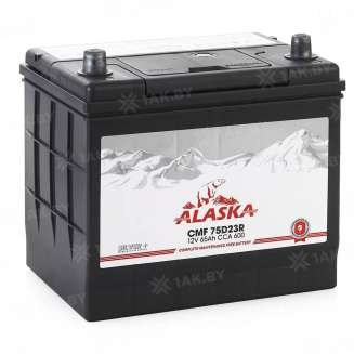 Аккумулятор ALASKA (65 Ah) 600 A, 12 V Прямая, L+ 0