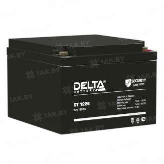 Аккумулятор DELTA (26 Ah) , 12 V 0