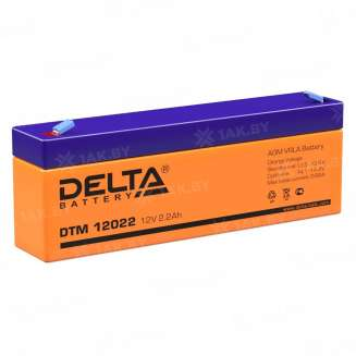 Аккумулятор DELTA (2.2 Ah) , 12 V 0