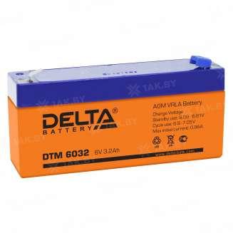 Аккумулятор DELTA (3.2 Ah) , 6 V 0