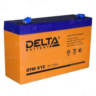 Аккумулятор DELTA (12 Ah) , 6 V 0