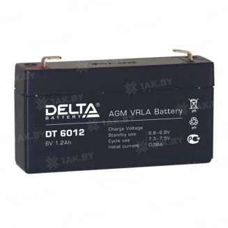 Аккумулятор DELTA (1.2 Ah) , 6 V 0