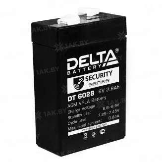 Аккумулятор DELTA (2.8 Ah) , 6 V 0
