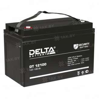 Аккумулятор DELTA (100 Ah) , 12 V 0