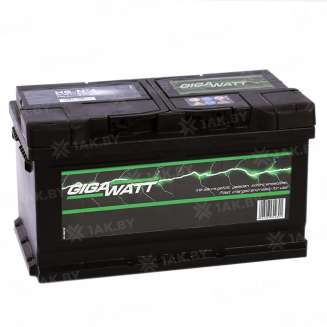 Аккумулятор GIGAWATT (83 Ah) 720 A, 12 V Обратная, R+ 0