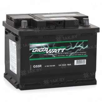 Аккумулятор GIGAWATT (56 Ah) 480 A, 12 V Обратная, R+ 0