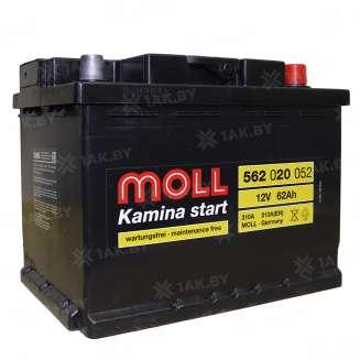 Аккумулятор MOLL (62 Ah) 510 A, 12 V Обратная, R+ 0