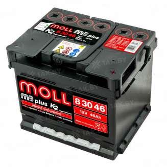 Аккумулятор MOLL (46 Ah) 430 A, 12 V Обратная, R+ 0