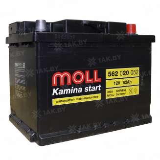 Аккумулятор MOLL (62 Ah) 520 A, 12 V Обратная, R+ 0