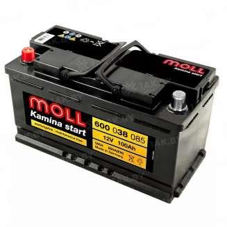 Аккумулятор MOLL (100 Ah) 850 A, 12 V Прямая, L+ 0