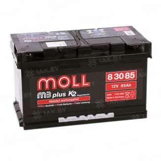 Аккумулятор MOLL (85 Ah) 710 A, 12 V Обратная, R+ 0