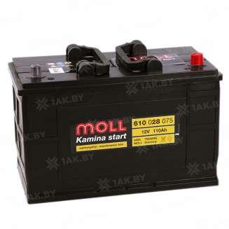 Аккумулятор MOLL (110 Ah) 750 A, 12 V Обратная, R+ 0