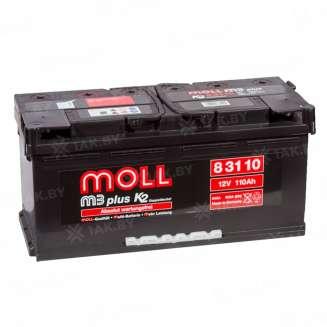 Аккумулятор MOLL (110 Ah) 900 A, 12 V Обратная, R+ 0