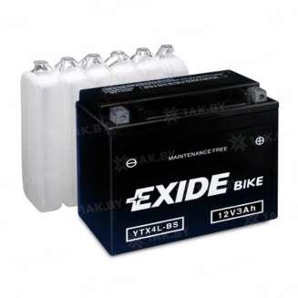 Аккумулятор EXIDE (3 Ah) 50 A, 12 V Обратная, R+ 0