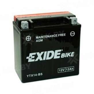 Аккумулятор EXIDE (12 Ah) 190 A, 12 V Прямая, L+ 0