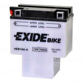 Аккумулятор EXIDE (16 Ah) 150 A, 7 V Прямая, L+ 0