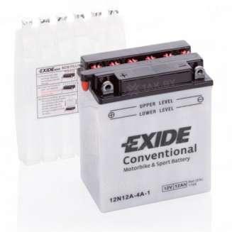 Аккумулятор EXIDE (12 Ah) 115 A, 12 V Прямая, L+ 0