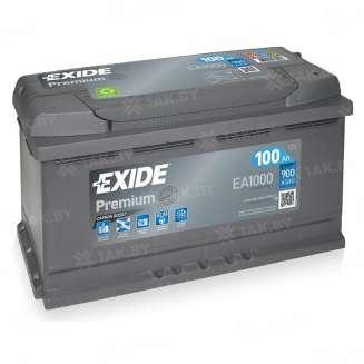 Аккумулятор EXIDE (100 Ah) 900 A, 12 V Обратная, R+ 0