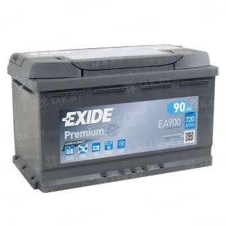 Аккумулятор EXIDE (90 Ah) 720 A, 12 V Обратная, R+ 0